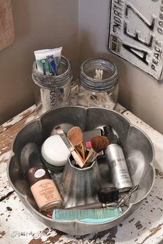 DIY Makeup Organizers On A Budget