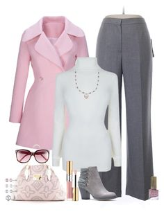 """""""Untitled #882"""" by ay-cr on Polyvore featuring Evan Picone, WithChic, BOSS Orange, Louis Vuitton, Lilly Pulitzer, Yves Saint Laurent and Floss Gloss"""