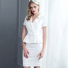Suit and Skirt Set GGO-011 $166.90, Click photo to know how to buy / Contact me for discount, follow board for more inspiration