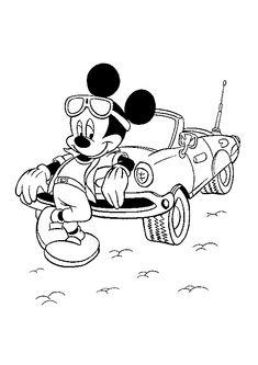 Mickey Disney Kleurplaten Kerst.145 Beste Afbeeldingen Van Disney Kleurplaat Micky
