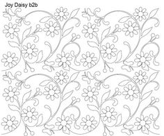 AnneBright.com - Shop | Category: Digitized Designs | Product: Joy Daisy b2b