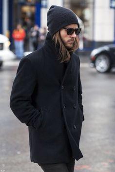 Beanie coat men Style tumblr