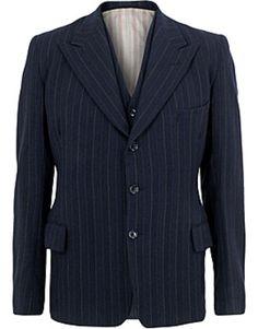 ASOS Fashion Finder | 1940s Dapper Navy Pinstripe Suit