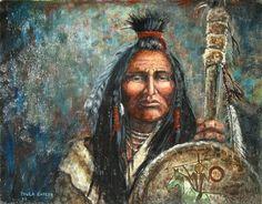 Cree warrior