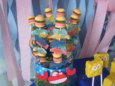 SpongeBob candy kabobs