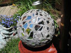 Old bowling ball idea.