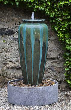 Nico Jar Glazed Fountain by Campania International