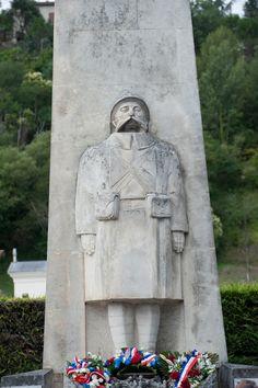2012 Tour de France, stage 14 - memorial  The memorial to war dead in Limoux. Photo: Casey B. Gibson   www.cbgphoto.com