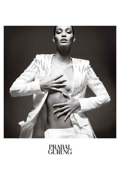 Joan Smalls for Prabal Gurung spring/summer 2013