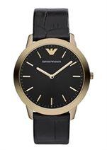 Emporio armani damen armbanduhr analog quarz leder ar1742