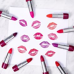Trend alert! Are you as excited as we are to try these new bold #lipstick colours? The ONE Intense Collection includes 10 bright shades, and we want them all. 