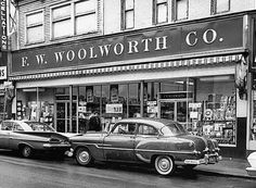 Woolworth's Five & Dime - New Bedford, Ma 1964! Was here every Saturday, with my mother and grandmother!