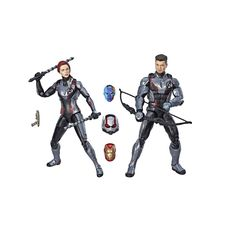 marvel avengers legends series 6 black widow marvel s hawkeye figure 2 pack - marvel legends pack fortnite