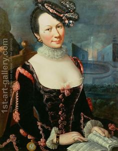 Marco Benefiale:Portrait of a Woman Holding a Musical Score Great trimmings a what a hat again an Isabella inspired costume? Rococo Fashion, Gothic Fashion, Fancy Dress, Dress Up, Theatre Costumes, Great Women, After Dark, Historical Clothing, Vintage Photographs