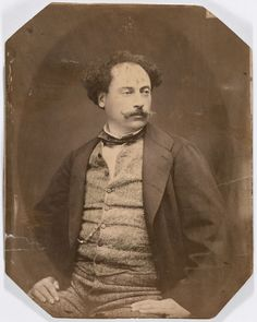 """Alexandre Dumas, fils Paris (Kingdom of France) July 27 1824 Marly-le-Roy (France) November 27 1895 French writer and dramatist, best known for """"Camille""""-The Lady of the Camellias (1848). He was the son of Alexandre Dumas, père. Admitted to the Académie Française in 1874 and awarded the Légion d'Honneur in 1894."""