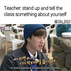 Me in school.