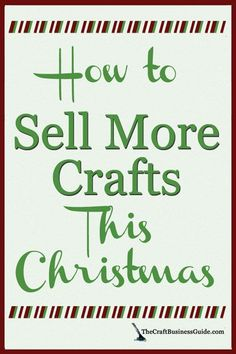 Best Selling Christmas Crafts - Shopper Research Shows What Sells What are the best selling Christmas crafts? Retail industry holiday shopper studies show trending niches to help you create crafts that sell well this holiday season. Diy Christmas Crafts To Sell, Christmas Craft Fair, Diy Crafts To Sell, Holiday Crafts, Selling Crafts, Christmas Ideas, Christmas 2019, Christmas Vacation, Christmas Decorations