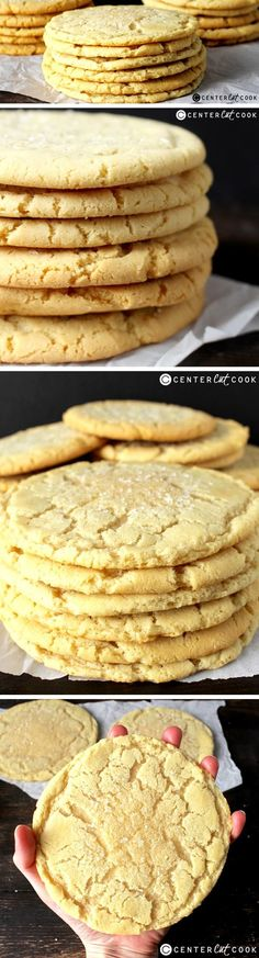 These JUMBO SUGAR COOKIES are just as delicious as the ones from a bakery and are so easy to make which means they can be enjoyed anytime!