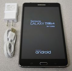 "Samsung Galaxy Tab 4 (SM-T230NU) 7"" Wi-Fi Android Tablet 8GB - Black"