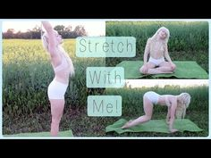 Eros y Tanatos — fitness-fits-me: 🌸🙏🏻🌿 YOGA STRETCHING ROUTINE -...