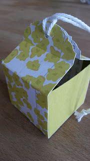 Schöne Papeterie: Schnelle Anleitung für eine kleine Goodie Box