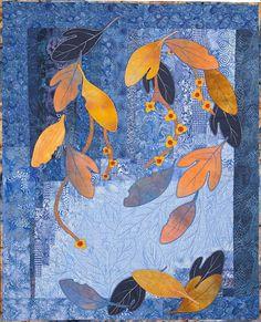 Nancy Cook - Fiber Art, Mixed Media and Art Quilts - Portfolio: Trees