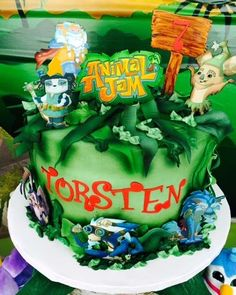 Torsten's Animal Jam-boree! | CatchMyParty.com