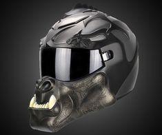 Orc Dragon Motorcycle Helmet | DudeIWantThat.com