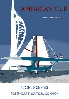 Image result for louis vuitton cup poster