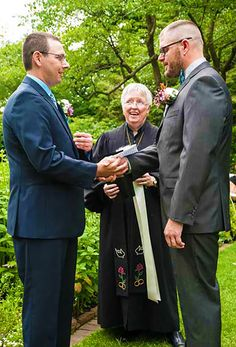 Gay wedding in Illinois - All Ceremonies Beautifully Done Reverend Marian Hale