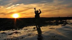 Sea Angling, Celestial, Sunset, Outdoor, Outdoors, Sunsets, Outdoor Games, The Great Outdoors, The Sunset