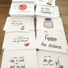 Long distance relationship -boyfriend gift -i miss you - ldr - funny card- girlfriend - funny chart - girlfriend -i love you - husband - Geschenke - Postcards for all situations in life by ANIllustrations on Etsy - Handmade Gifts For Boyfriend, Diy Gifts For Girlfriend, Cute Boyfriend Gifts, Diy Gifts For Mom, Diy Gifts For Friends, Birthday Gifts For Boyfriend, Boyfriend Ideas, Boyfriend Crafts, Valentines Day Gifts For Him Diy