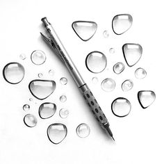 Johanna: ✍ want to practice shading? draw these - loads of fun and not as time consuming! Graphite Drawings, Pencil Drawings, Art Drawings, Pencil Art, Anime Artwork, Cool Artwork, Amazing Artwork, Bubble Drawing, Observational Drawing