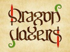 ambigram dragon slayers
