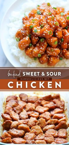 263 reviews · 1.5 hours · Gluten free · Serves 4 · Skip the takeout for this Asian-inspired dish! Baked until the flavors meld right in, this homemade sweet and sour chicken is so much healthier and tastier. Save this chicken recipe for a… Entree Recipes, Dinner Recipes, Cooking Recipes, Bread Recipes, Easy Recipes, Healthy Chicken Recipes, Chicken Meals, Recipe Chicken, Healthy Food