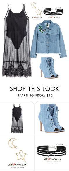 """""""Coachella"""" by gamosefashion on Polyvore featuring H&M and Gianvito Rossi"""