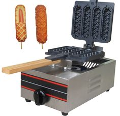 Online Shop Muffin Hot dog machine in snack machines Bubble Waffle, Waffle Bar, Waffle Iron, Cool Kitchen Gadgets, Cool Kitchens, Churros Machine, French Hot Dog, Hot Dogs, Dog Vegetables