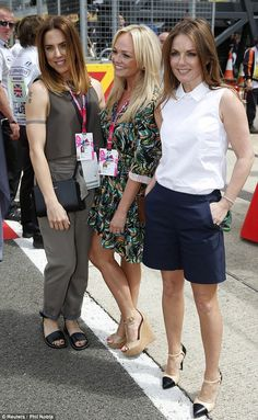 Still got it! The three stars all looked great at the races and maintained their personal sense of style.