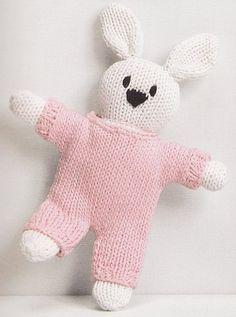 Knitting Projects, Knitting Patterns, Knitted Dolls, Crochet Baby, Kids Toys, Diy And Crafts, Dinosaur Stuffed Animal, Rabbit, Children