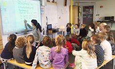 Førsteklassinger skriver brev til skolestartere | Skrivesenteret