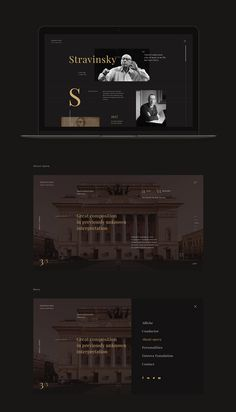 The opera-oratorio Oedipus Rexis a charity event to draw attention to people with cystic fibrosis Website Layout, Web Layout, Layout Design, Design Web, Site Portfolio, Ui Web, Responsive Web, Prop Design, Website Design Inspiration