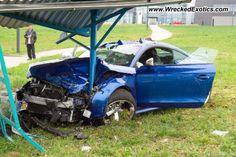 Audi TT wrecked, Ludwigsburg, Germany, photo #2