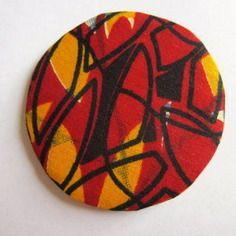 Grand magnet wax rouge et jaune (envoi 0€)