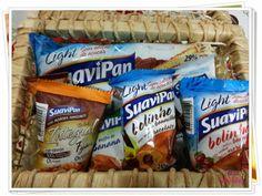 Produtos Light da Suavipan são deliciosos. Pode ser consumido em qualquer dieta de redução de peso.