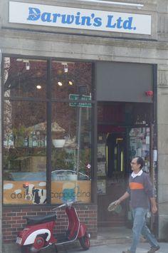 Darwin's Ltd outside of Harvard Square