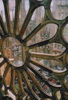 Gaudi, Sagrada Familia, Barcelona, Spain. Building still under construction. Completion ETA: 2026.