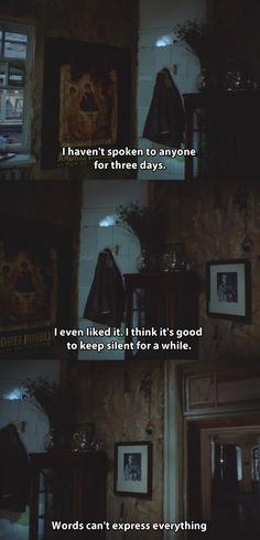 "(make that 3 weeks.) from ""Zerkalo"" (Film; 1975) (dir. Andrei Tarkovsky)"