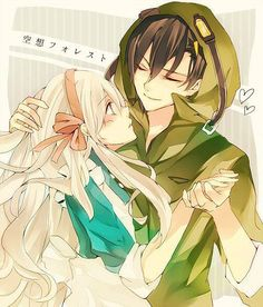Anime Couple SA Cute!!!