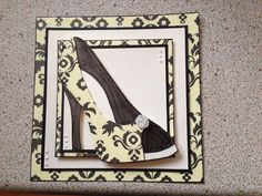 Love this. Using shoe by Chloe's stamps