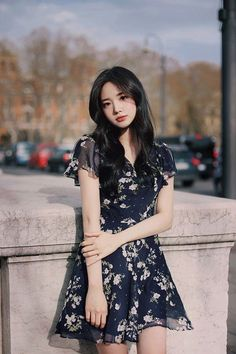 """Punya kakak pada lucknut semua!""   Menceritakan kisah sehari hari Ye… #fanfiction #Fanfiction #amreading #books #wattpad Korean Fashion Dress, Korean Outfits, Asian Fashion, Girl Outfits, Cute Outfits, Fashion Outfits, Elegant Dresses, Beautiful Dresses, Asian Models Female"